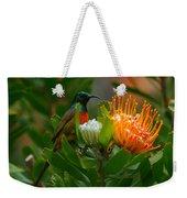 Orange-breasted Sunbird II Weekender Tote Bag