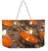 Orange Candles Weekender Tote Bag
