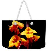 Orange Cannas Weekender Tote Bag