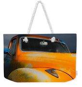Orange Car Weekender Tote Bag