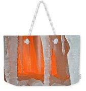 Orange Cave Weekender Tote Bag