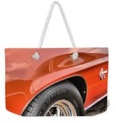Orange Chevelle Ss 396 Weekender Tote Bag