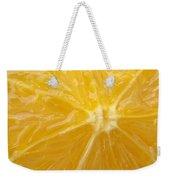 Orange Closeup Weekender Tote Bag