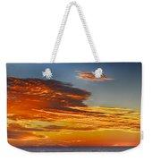 Orange Clouds Weekender Tote Bag