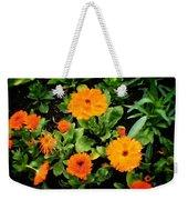 Orange Country Flowers - Series I Weekender Tote Bag