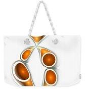 Orange Creation Weekender Tote Bag