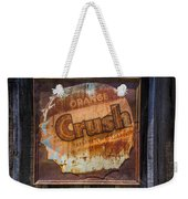 Orange Crush Sign Weekender Tote Bag