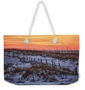 Orange Dawn Weekender Tote Bag