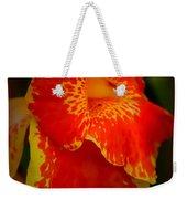 Orange Delight Weekender Tote Bag by Debra Forand