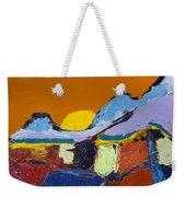 Orange Evening Weekender Tote Bag