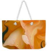 Orange Fantasy Begonia Flower Weekender Tote Bag
