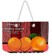 Orange Farm Weekender Tote Bag