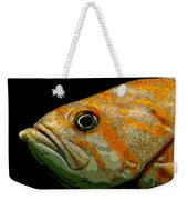 Orange Fish Weekender Tote Bag