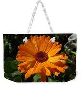 Orange Flower In The Garden Weekender Tote Bag