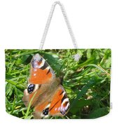 Orange Flutter Weekender Tote Bag