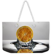 Orange Freshsplash Weekender Tote Bag
