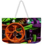 Orange Gear Weekender Tote Bag