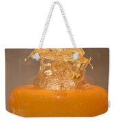 Orange Glass Sculpture Weekender Tote Bag