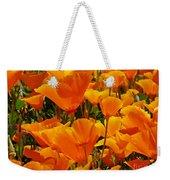 Orange Glimmer Weekender Tote Bag