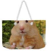 Orange Hamster Ha106 Weekender Tote Bag