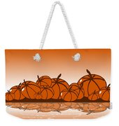 Orange Harvest Weekender Tote Bag