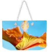 Orange Hibiscus Texture II Weekender Tote Bag