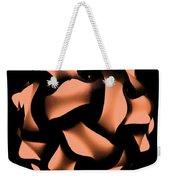 Orange Honeycomb Weekender Tote Bag