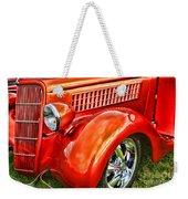 Orange Hood And Fender-hdr Weekender Tote Bag