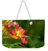 Orange Lily Weekender Tote Bag