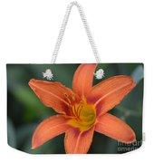 Orange Lily Photo 6 Weekender Tote Bag