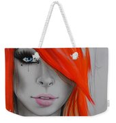 Orange Nectar Weekender Tote Bag