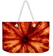 Orange On Fire Weekender Tote Bag