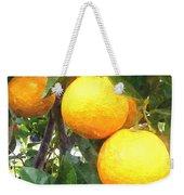 Orange On Tree Weekender Tote Bag