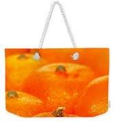 Orange Oranges Weekender Tote Bag