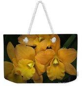 Orange Orchid Group Weekender Tote Bag