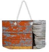 Orange Paint Weekender Tote Bag