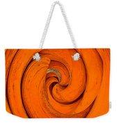 Orange Peal Weekender Tote Bag