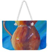 Orange Pitcher Still Life Weekender Tote Bag