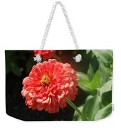Orange Poof Weekender Tote Bag
