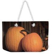 Orange Pumpkins Weekender Tote Bag