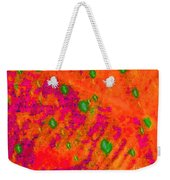 Orange Purple Tapestry Abstract Weekender Tote Bag
