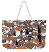 Orange Roofs Weekender Tote Bag