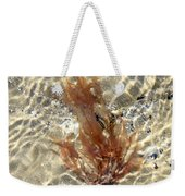 Orange Seaweed Weekender Tote Bag
