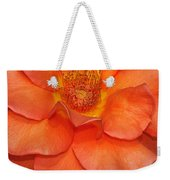 Orange Sherbert Weekender Tote Bag