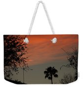 Orange Skies Weekender Tote Bag
