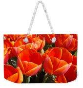 Orange Spring Tulip Flowers Art Prints Weekender Tote Bag