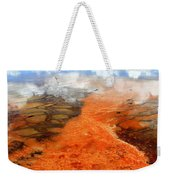 Orange Stones Weekender Tote Bag