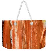 Campfire On A Snowy Night Weekender Tote Bag