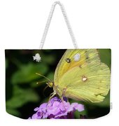 Orange Sulphur Weekender Tote Bag