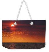 Orange Sunset Over Oyster Bay Weekender Tote Bag